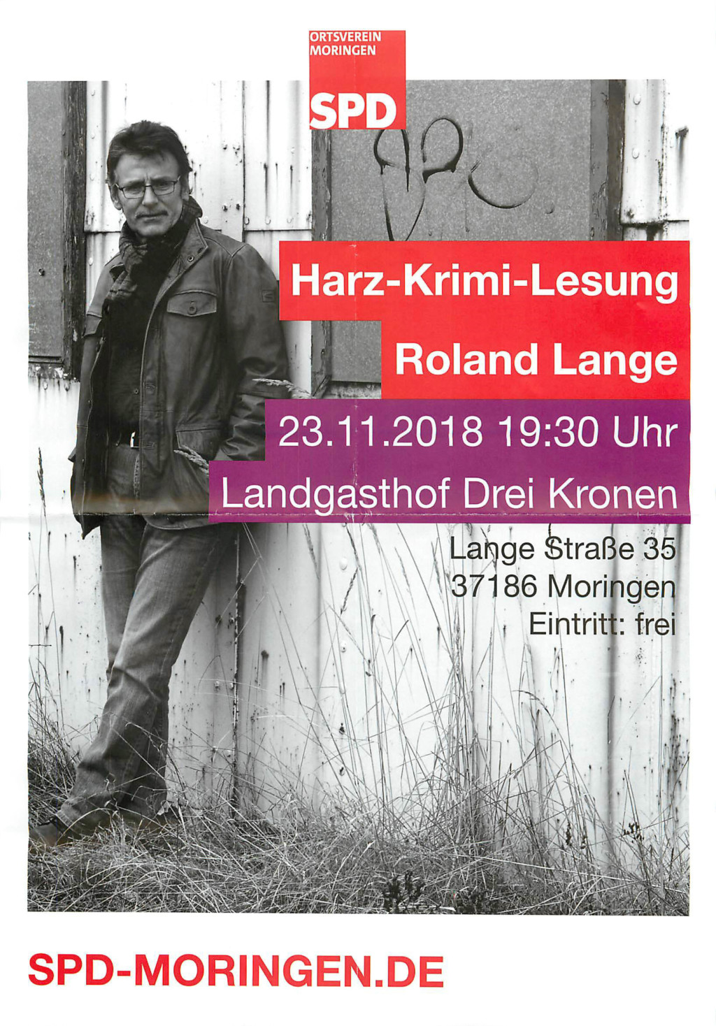 Plakat Roland Lange